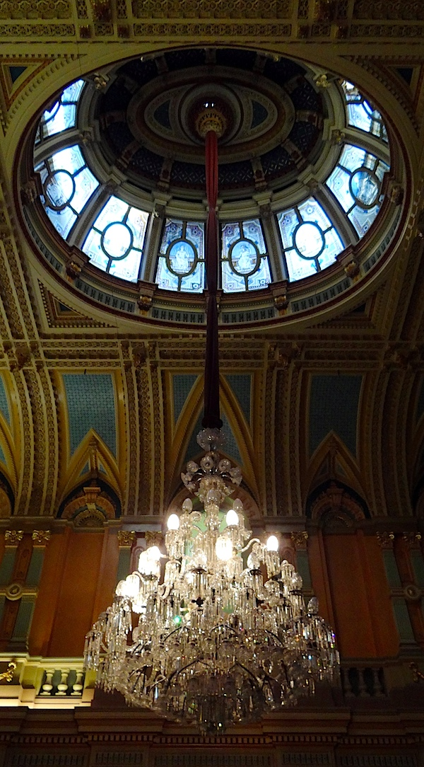Town hall chandelier.JPG
