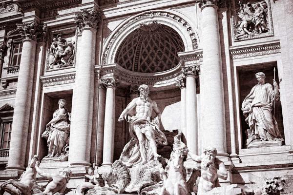 Trevi Fountain in Rome | James Brandon Photographer