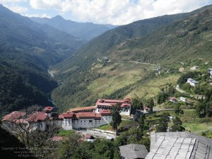 Image: Trongsa Dzong (fortress), Bhutan