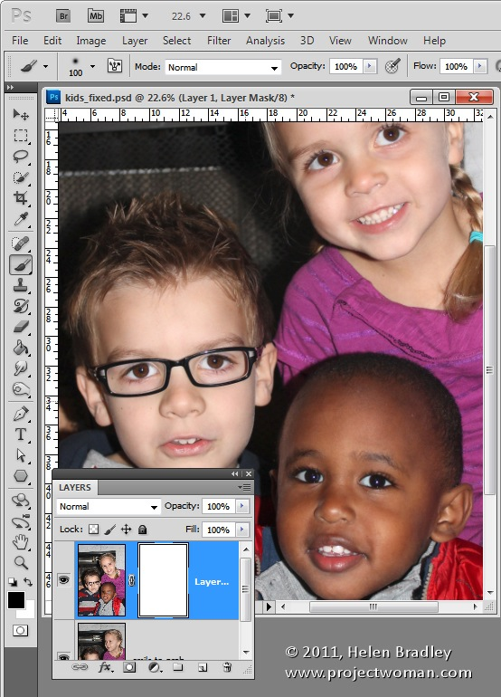 How to superimpose a face onto a picture photoshop