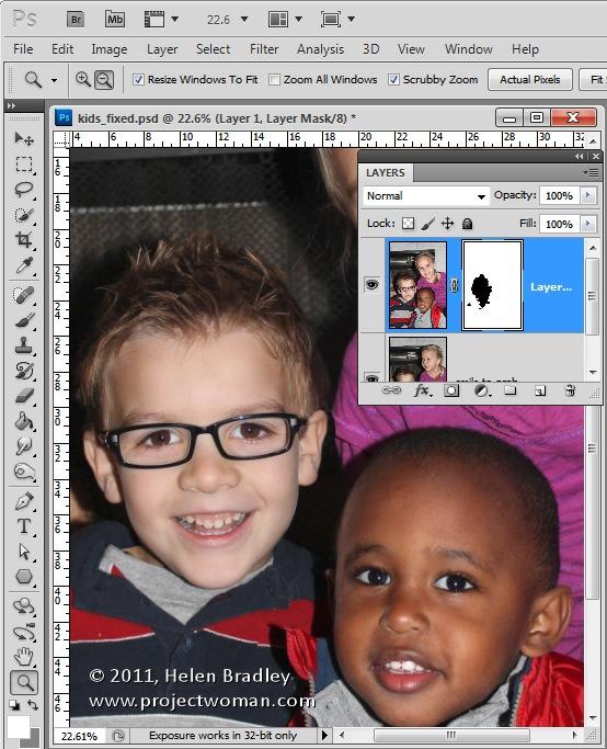 Photoshop head onto body app