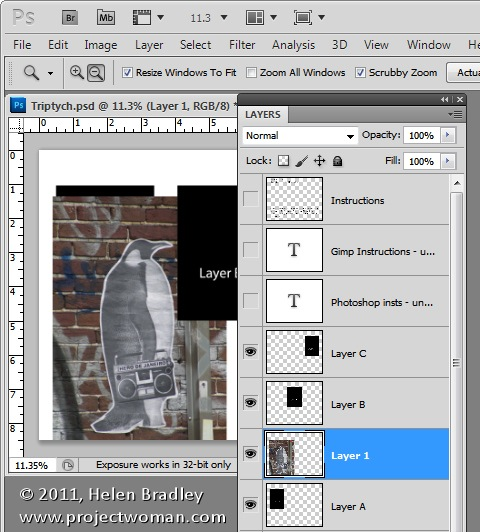 How to Use Templates to Create a Collage or Montage in Photoshop