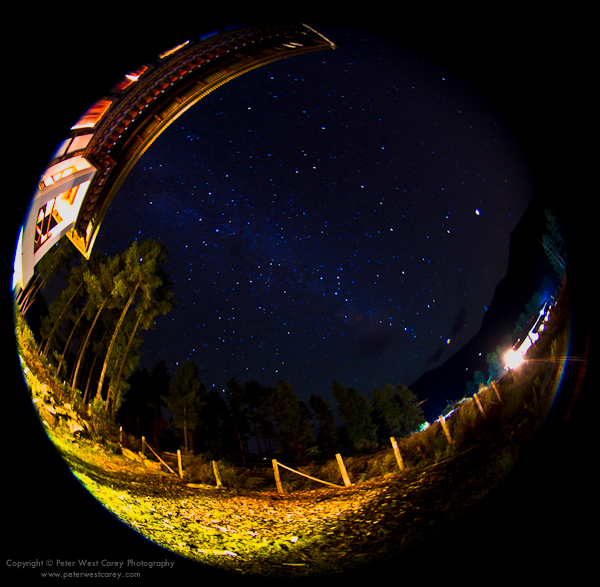 Image: The Milky Way From Phobjika Valley, Bhutan