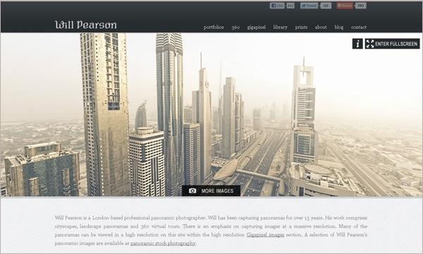photo portfolio website