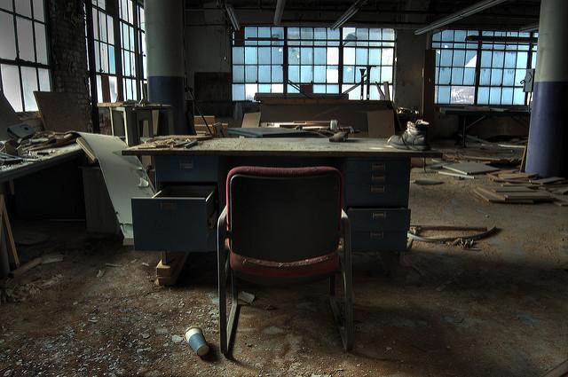 Abandoned Building, Camp Washington