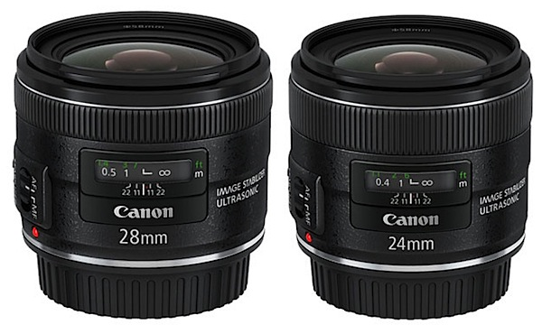 Canon Update 3 Lenses including EF 24-70 F/2.8L II USM