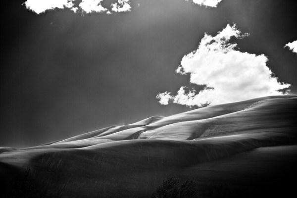 Sand Dunes B&W