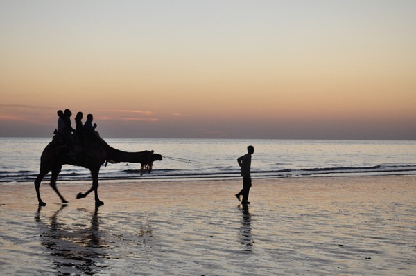 Mandvi Beach of Kutch - Gujarat - India