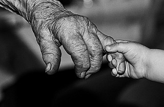 hand in hand -  old@new, past@future!