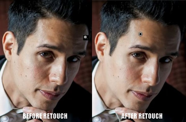 Advanced Portrait Retouch on a Male Subject in Lightroom 4 - Part 2 of 3