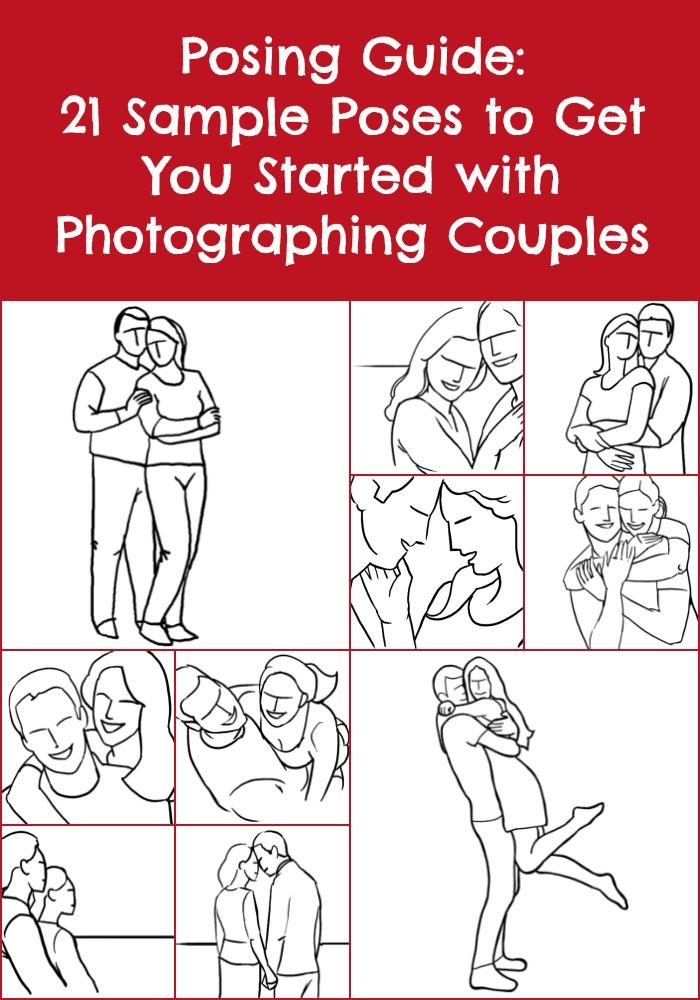 Guia de poses: 21 poses de amostra para começar a fotografar casais