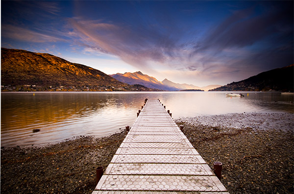 Image: The Wharf at Frankton, Queenstown New Zealand. Shoot 'cliched' subjects like whar...