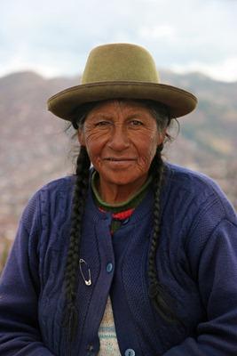 Cuzco woman