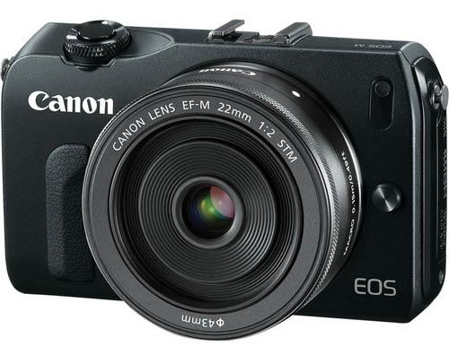 Canon EOS-M Announced