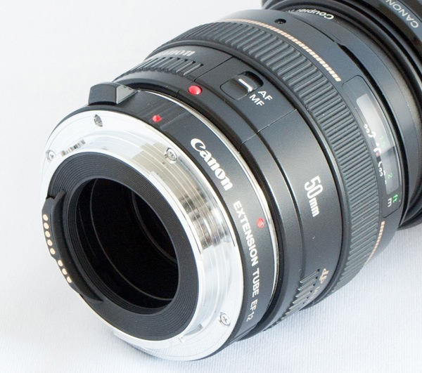 lens with extension tube
