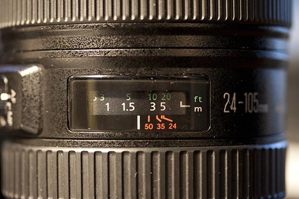 Manual Focus Meter, 5D Mark II
