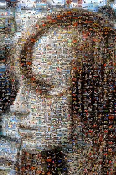 Mannikin 3 larger Mosaic