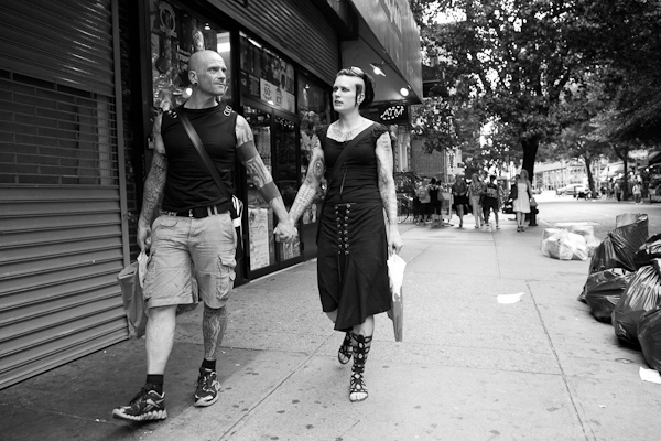 Couple, St. Marks Street