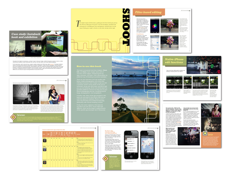 Image: Beautifully designed and full of inspiring example images, screenshots, exercises and step by...