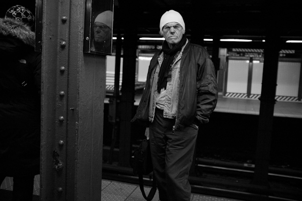 Reflection, Subway