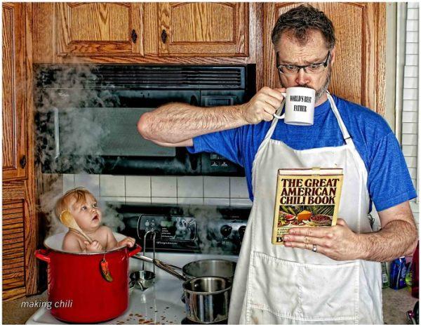 Image: World's Best Father Photo Courtesy: Dave Engledow