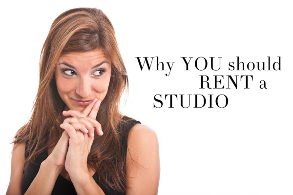 Why you Should Rent a Studio