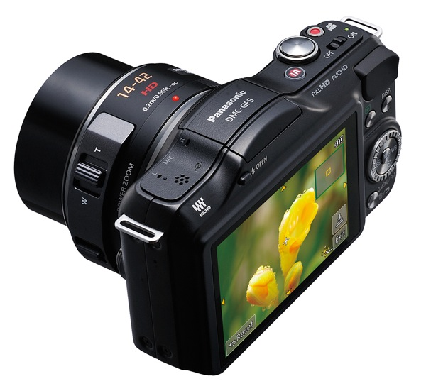 Panasonic Lumix DMC GF5 angled