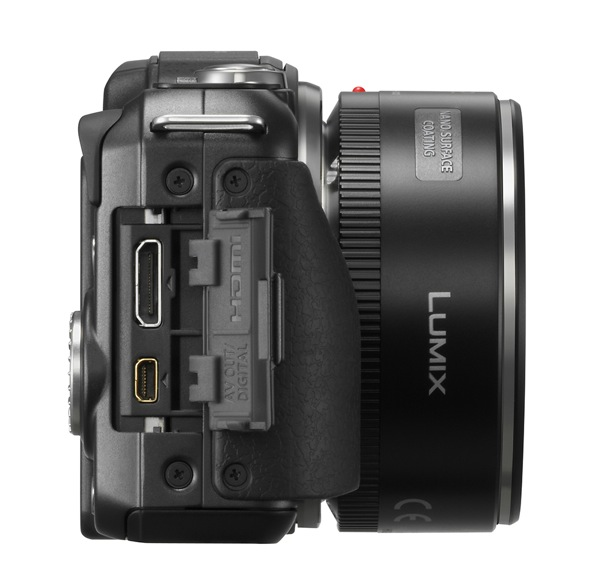 Panasonic Lumix DMC GF5 side 2