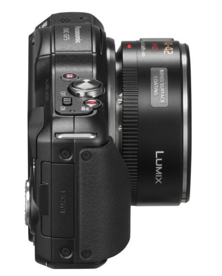 Panasonic Lumix DMC GF5 side