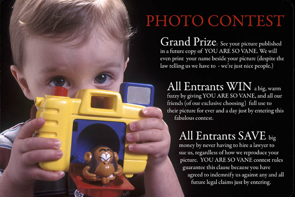 Photo Contests – Is that a contest or Rights Grab?