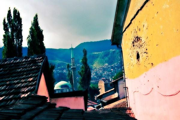 Image: Downtown Sarajevo, Bosnia