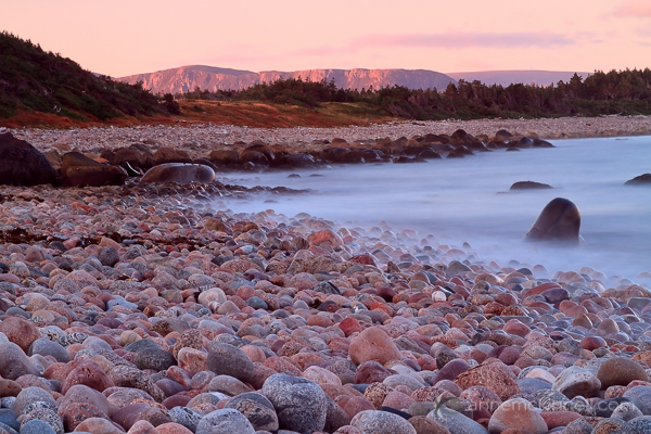 Green Point Beach, Gros Morne National Park, Newfoundland, Canada.