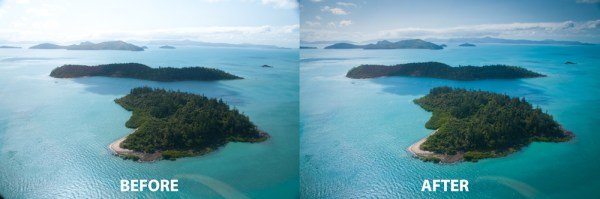 Image: Typical post processing for landscapes will include straightening and cropping to improve com...