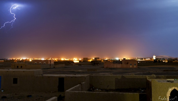 Merzouga - Desert storm