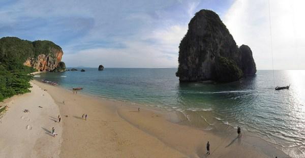Phranang beach à Railay