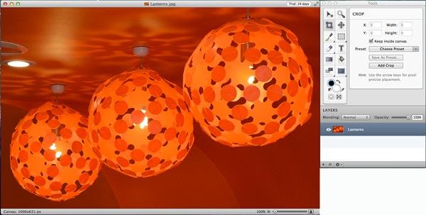 Lanterns window