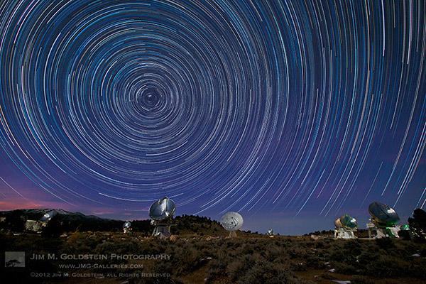 CARMA Star Trails
