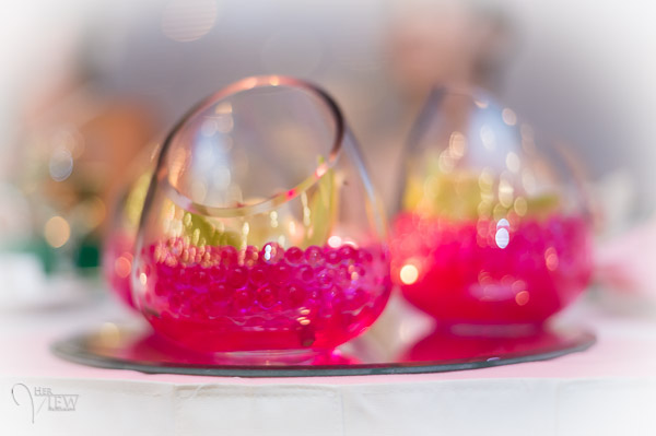 Fun bokeh at a wedding using ambient light. Almost impossible to get this shot without the big aperture.