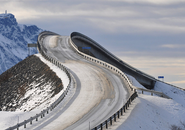 "Atlanterhavsveien - ""The Atlantic Road"""