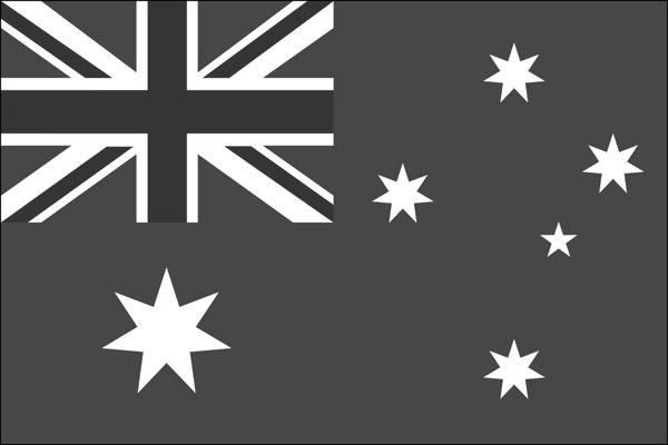 Australian flag desat