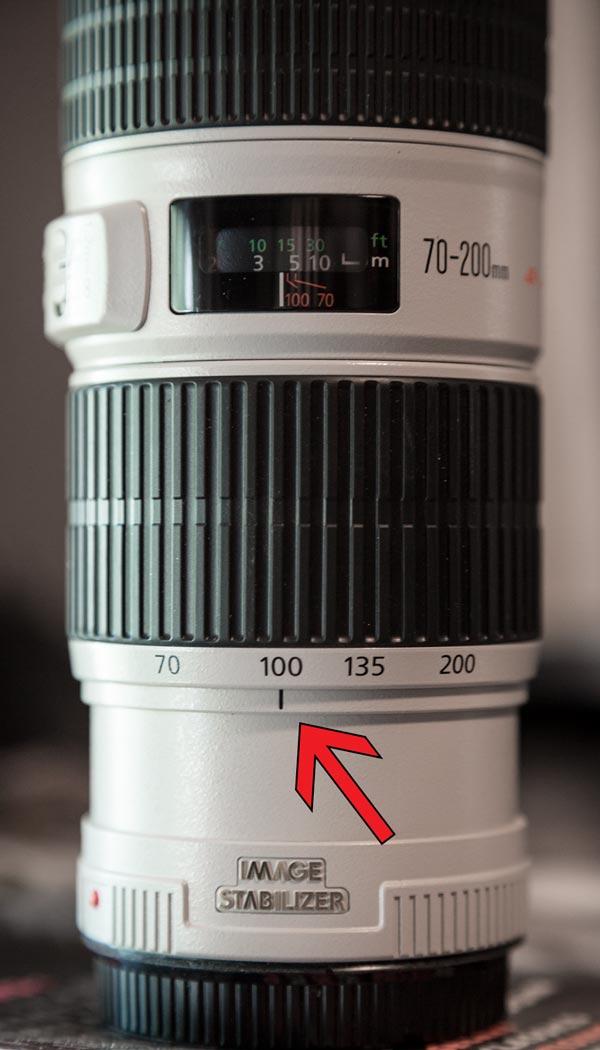 focal length on a lens