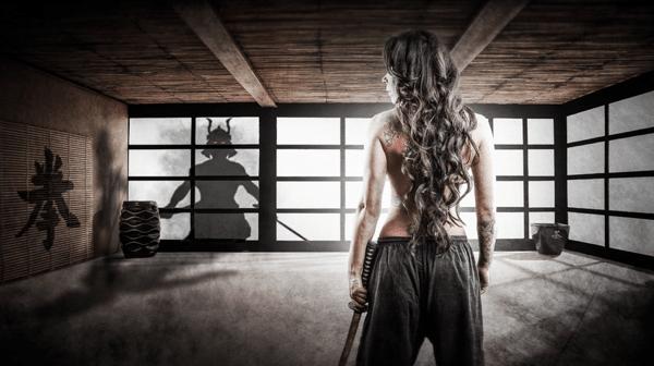 Samurai Girl Composite: Behind the Scenes Post Production Walk Through