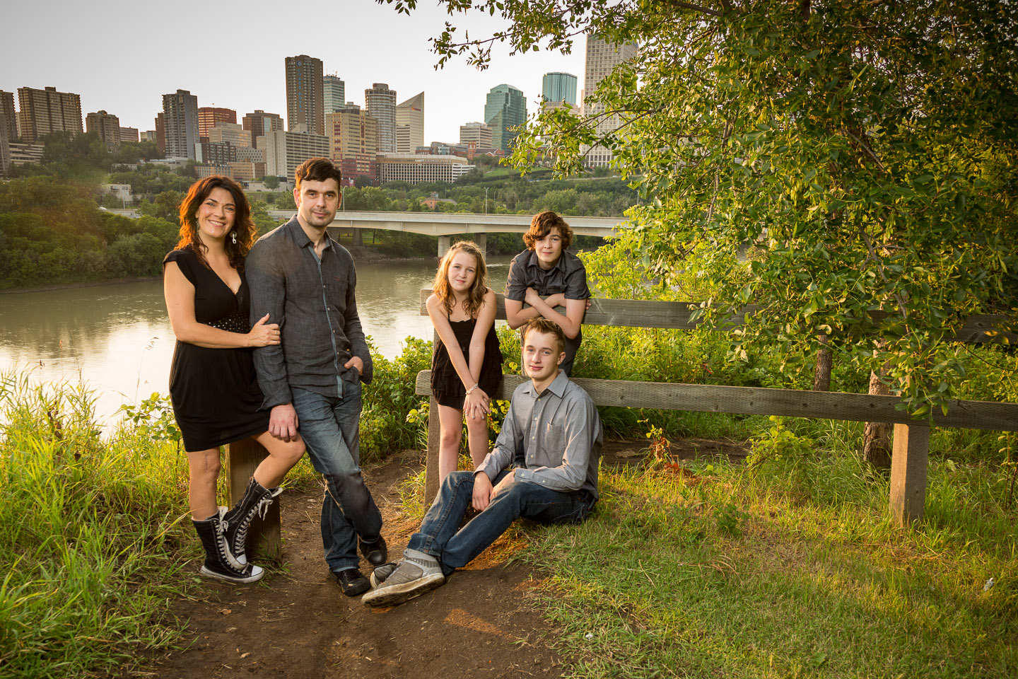 family portrait tips example