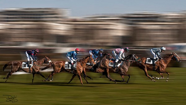 Longchamp Horse Racecourse- Paris, France - Hippodrome de Longchamp