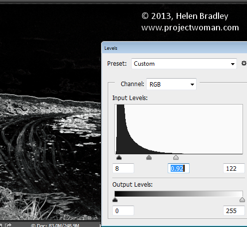 How to Sharpen Image Edges in Photoshop 3