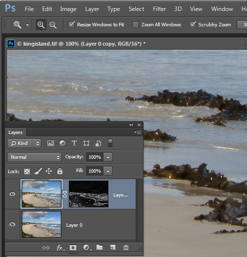 How to Sharpen Image Edges in Photoshop