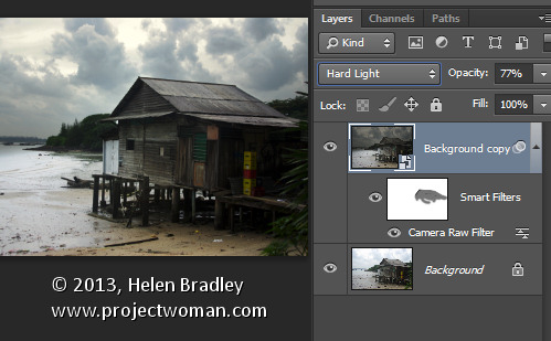 Adobe Camera Raw (ACR) as a Photoshop Filter
