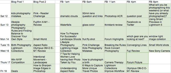 Dps Calendar.Behind The Scenes My Low Tech Editorial Schedule