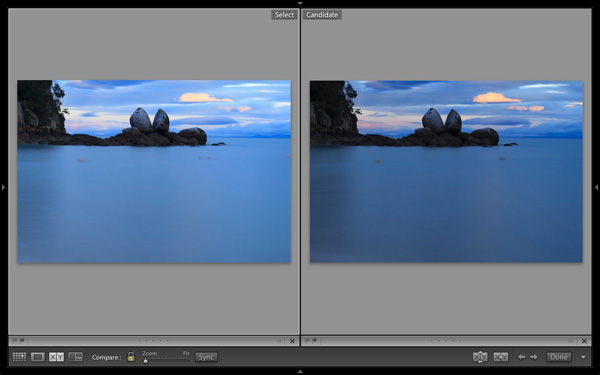 How to Find Your Best Images With Lightroom 5's Compare View