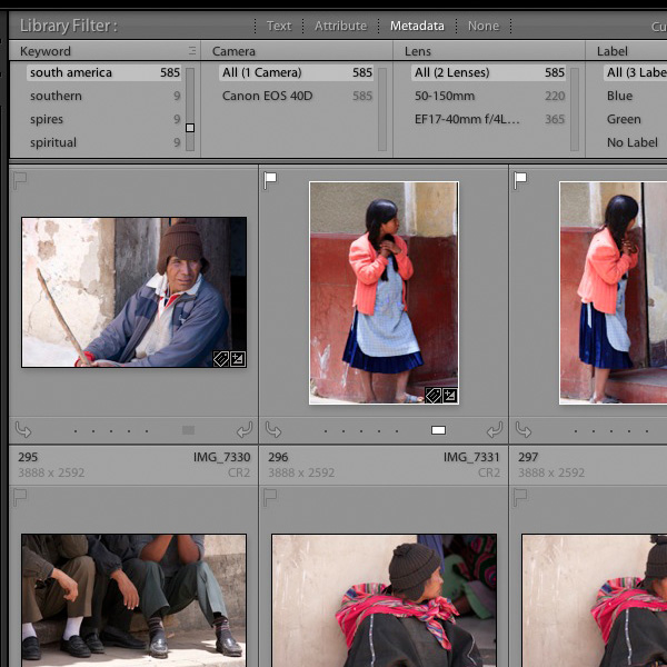 Creative ways to use Keywords in Lightroom 5